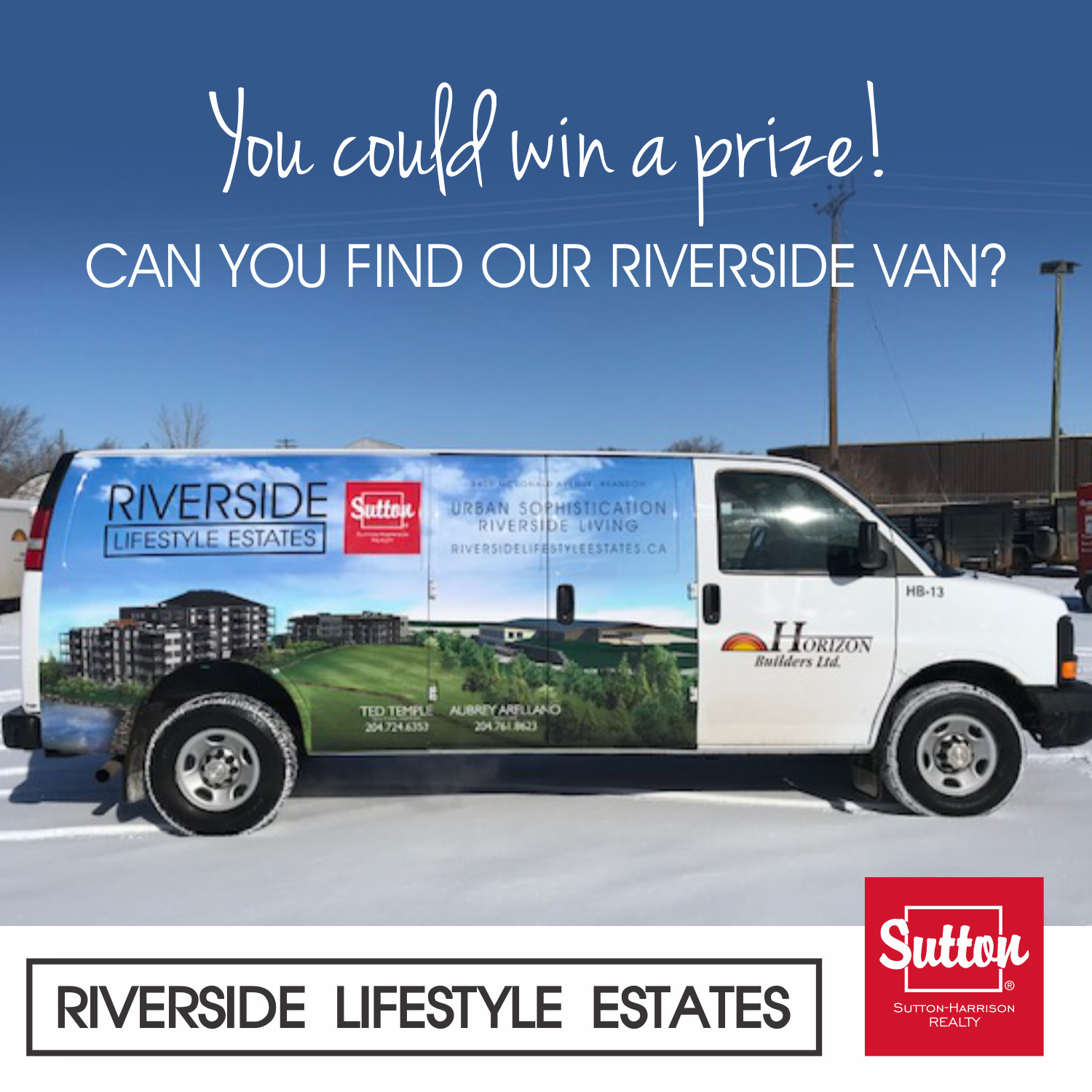 riverside lifestyle estates promotional van